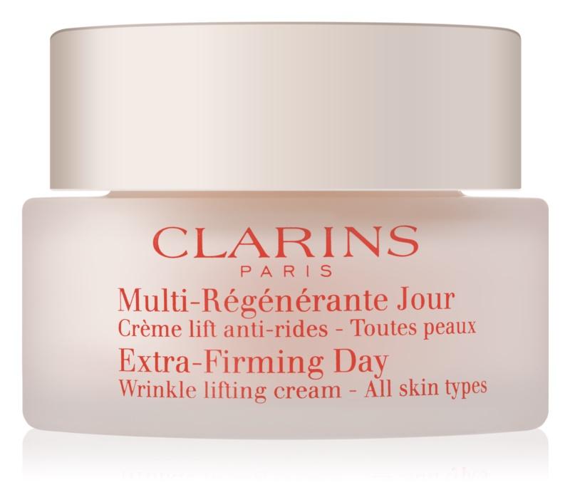 Clarins Extra-Firming dnevna lifting krema proti gubam za vse tipe kože