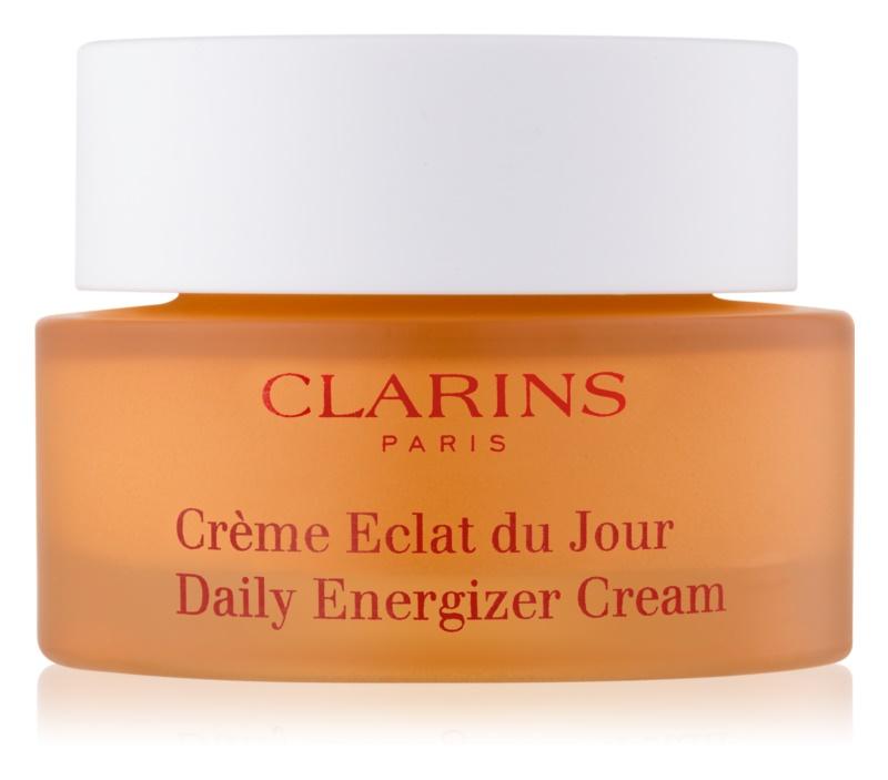 Clarins Daily Energizer crème de jour illuminatrice effet hydratant pour peaux normales et sèches