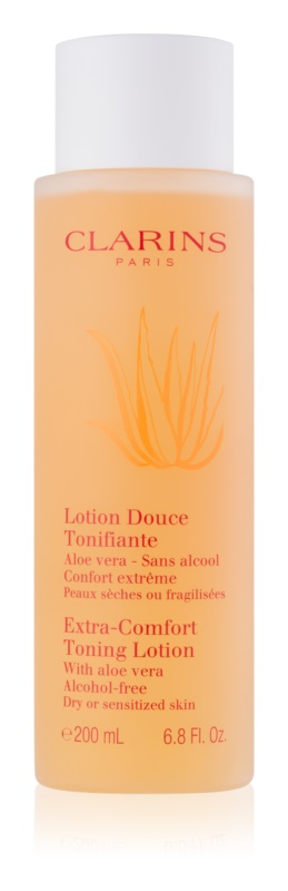 Clarins Cleansers Extra Comfort Toning Lotion for Dry or Sensitized Skin