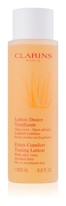 Clarins Cleansers tónico refrescante para pieles secas y sensibles