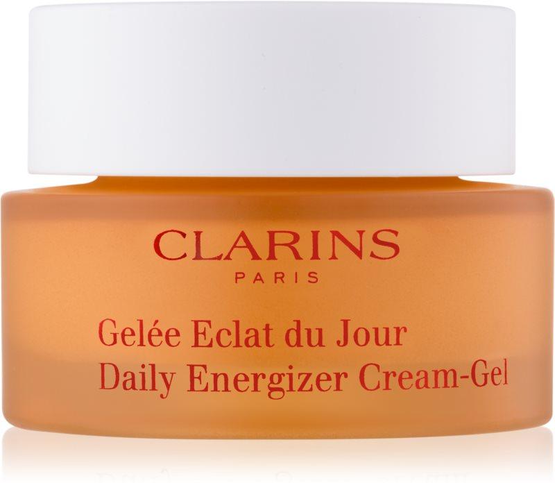 Clarins Daily Energizer crema gel hidratanta protectoare pentru zi pentru ten mixt si gras