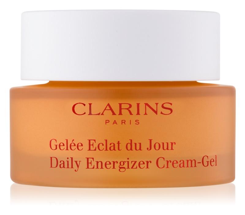 Clarins Daily Energizer dnevna gelasta krema z matirajočim učinkom za mastno in mešano kožo