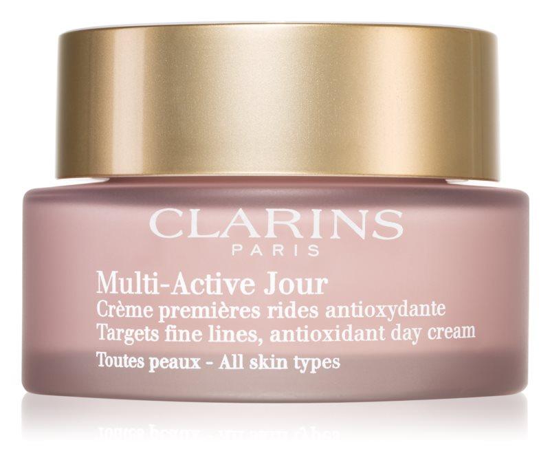 Clarins Multi-Active antioksidativna dnevna krema protiv prvih znakova starenja kože