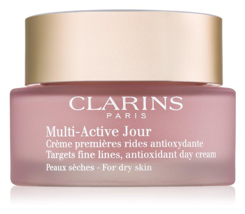 Clarins Multi-Active antioxidáns nappali krém száraz bőrre