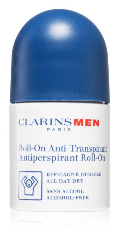 Clarins Men Body antiperspirant roll-on bez alkoholu