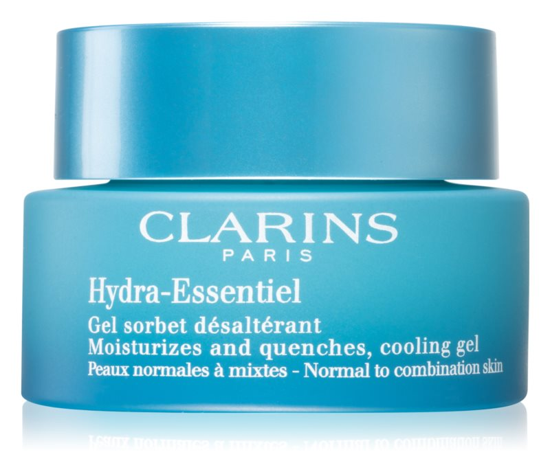 Clarins Hydra-Essentiel crema gel pentru hidratare. pentru piele normala si mixta