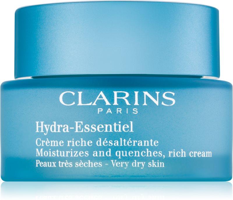 Clarins Hydra-Essentiel Rijke Hydraterende Crème voor Zeer Droge Huid