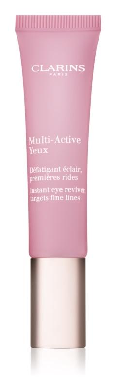 Clarins Multi-Active gel-crema pentru ochi semne de oboseala