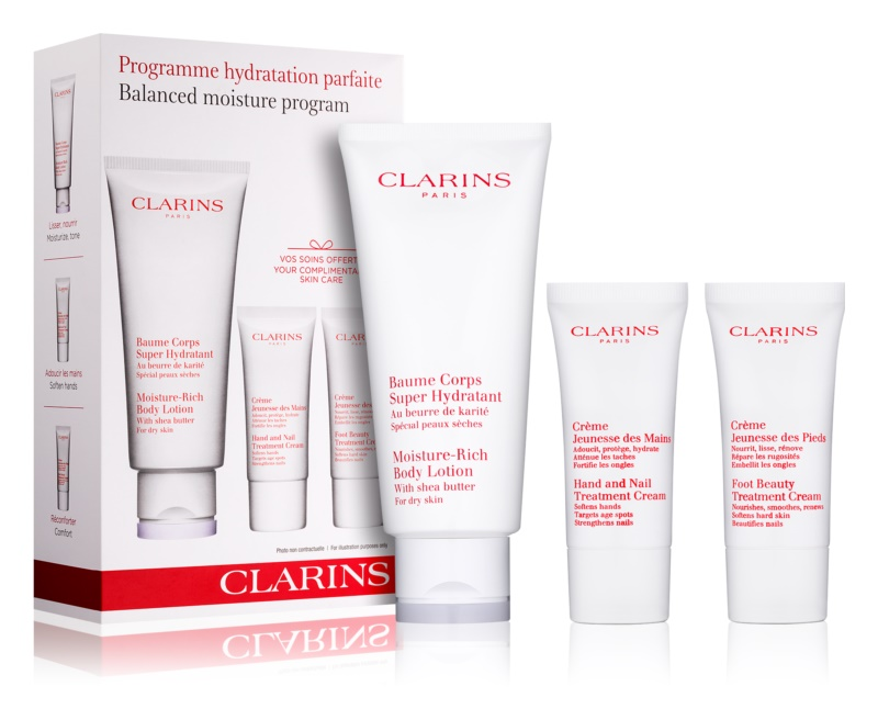 Clarins Balanced Moisture Program косметичний набір I.