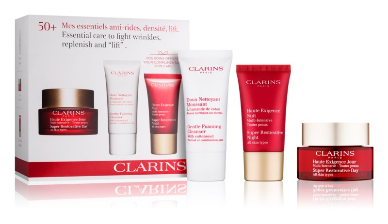 Clarins Super Restorative kosmetická sada III.