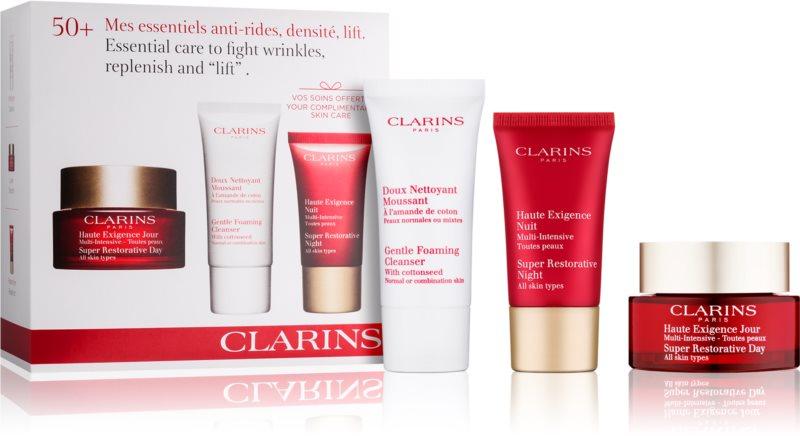 Clarins Super Restorative zestaw kosmetyków III.