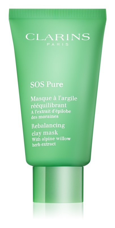 Clarins SOS Pure Clay Mask For Combination To Oily Skin