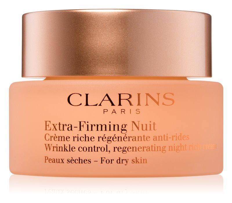 Clarins Extra-Firming nočna krema za učvrstitev kože in proti gubam za suho kožo