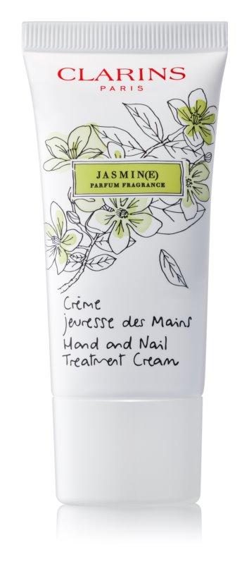 Clarins Specific Care Jasmine ενυδατική κρέμα για χέρια και νύχια