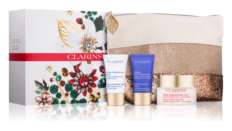 Clarins Extra-Firming lote cosmético III.