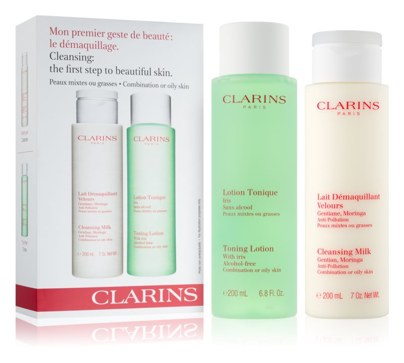 Clarins Cleansers kozmetika szett VII.