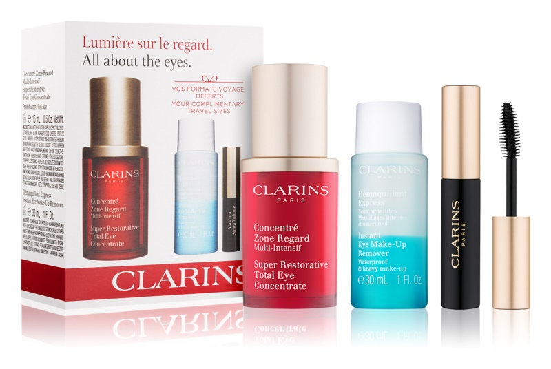 Clarins Eye Collection Set Cosmetic Set VIII.