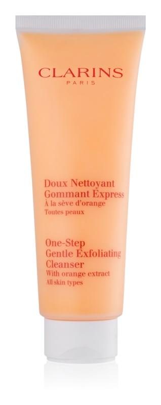 Clarins Cleansers exfoliante limpiador suave