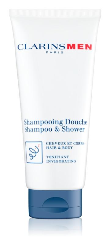Clarins Men Wash erfrischendes Shampoo Für Körper und Haar