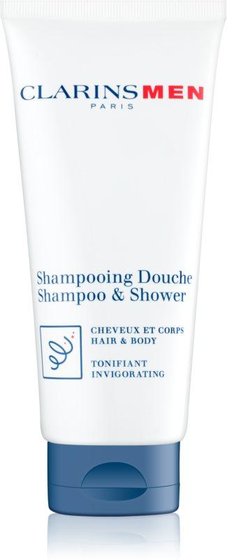 Clarins Men Wash osvěžující šampon na tělo a vlasy