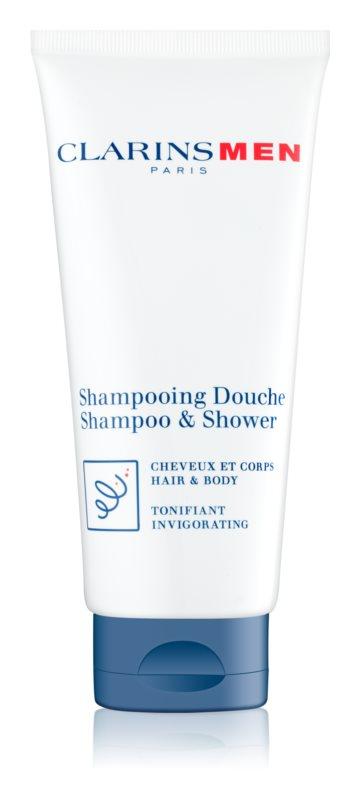 Clarins Men Wash Verfrissende Shampoo  voor Lichaam en Haar