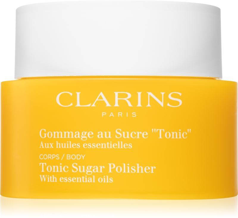 Clarins Body Exfoliating Care učvrstitveni piling za telo z eteričnimi olji