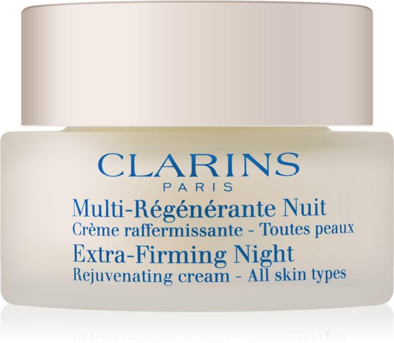 Clarins Extra-Firming crema de noche reafirmante y antiarrugas  para todo tipo de pieles