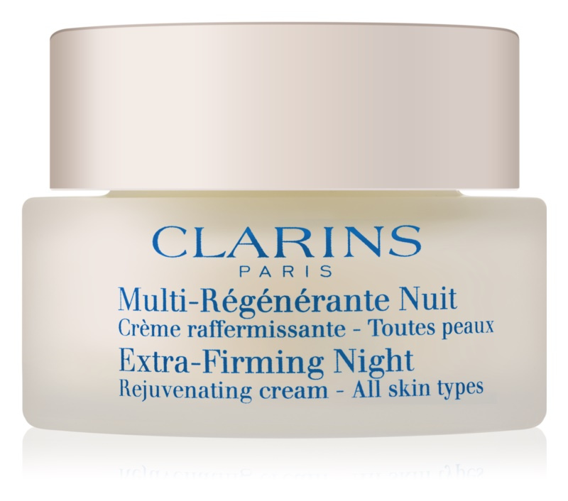 Clarins Extra-Firming éjszakai feszesítő és ránctalanító krém minden bőrtípusra