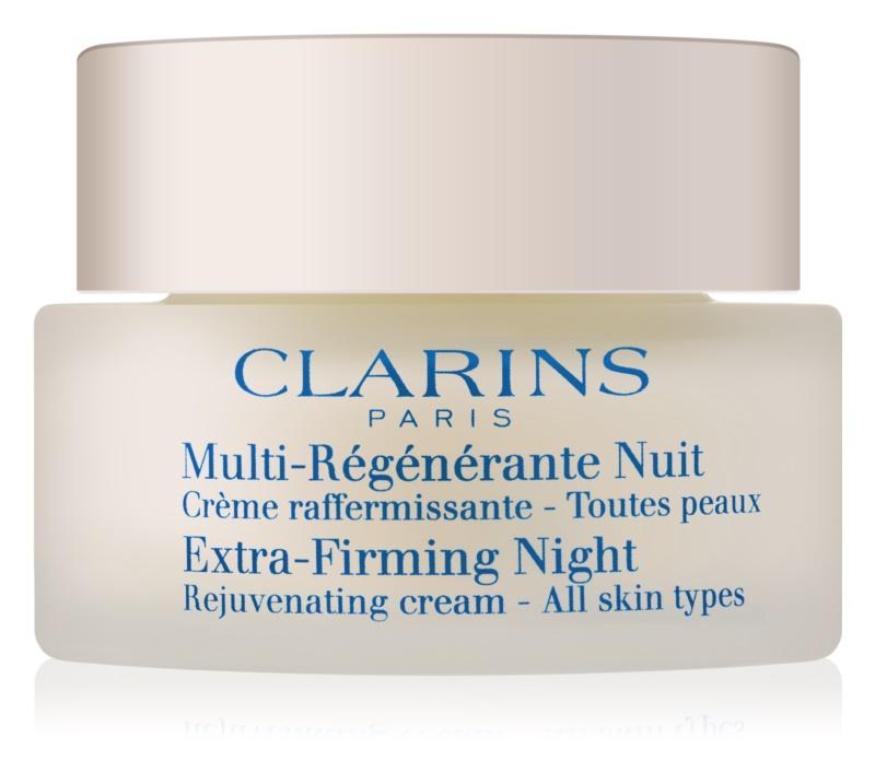 Clarins Extra-Firming noćna krema za učvršćivanje protiv bora za sve tipove lica