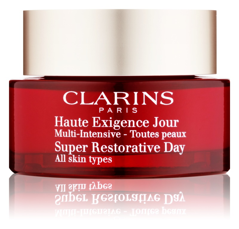 Clarins Super Restorative Day Illuminating Lifting Replenishing Cream for All Skin Types
