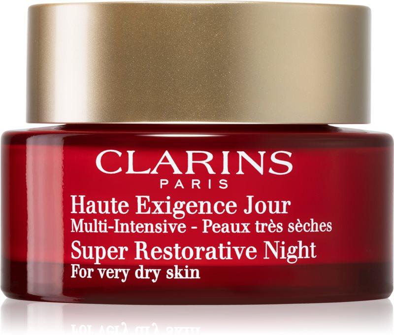 Clarins Super Restorative nočný krém proti prejavom starnutia pleti pre veľmi suchú pleť