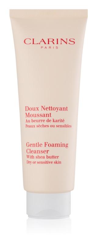 Clarins Cleansers espuma limpiadora suave para pieles sensibles y secas