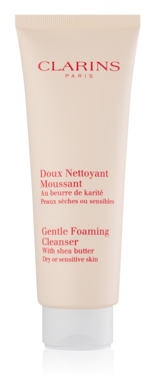 Clarins Cleansers Gentle Foaming Cleanser for Dry or Sensitive Skin