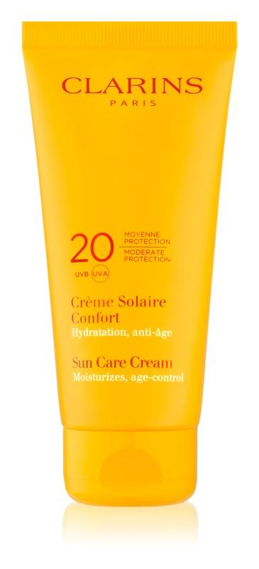Clarins Sun Protection Bräunungscreme für den Körper SPF 20