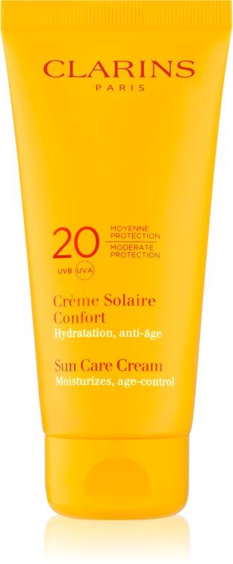 Clarins Sun Protection protetor solar corporal SPF 20