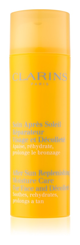 Clarins Sun Soothers After Sun Replenishing Moisture Care for Face and Décolleté