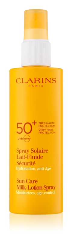 Clarins Sun Protection αντηλιακό γαλάκτωμα  σε σπρέι SPF 50+