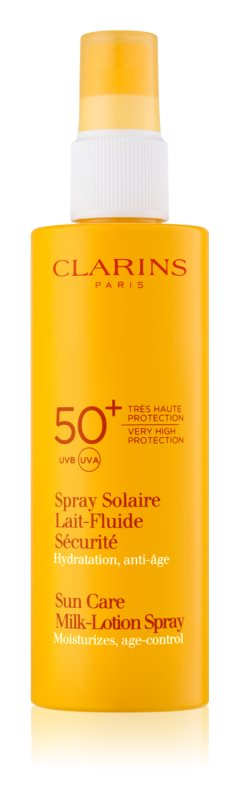 Clarins Sun Protection Sun Care Milk-Lotion Spray SPF 50+