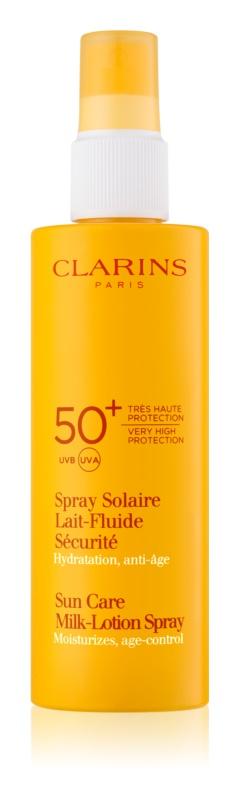 Clarins Sun Protection Zonnebrandmelk in Spray  SPF 50+
