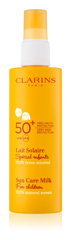 Clarins Sun Protection παιδικό αντηλιακό γάλα  SPF 50+
