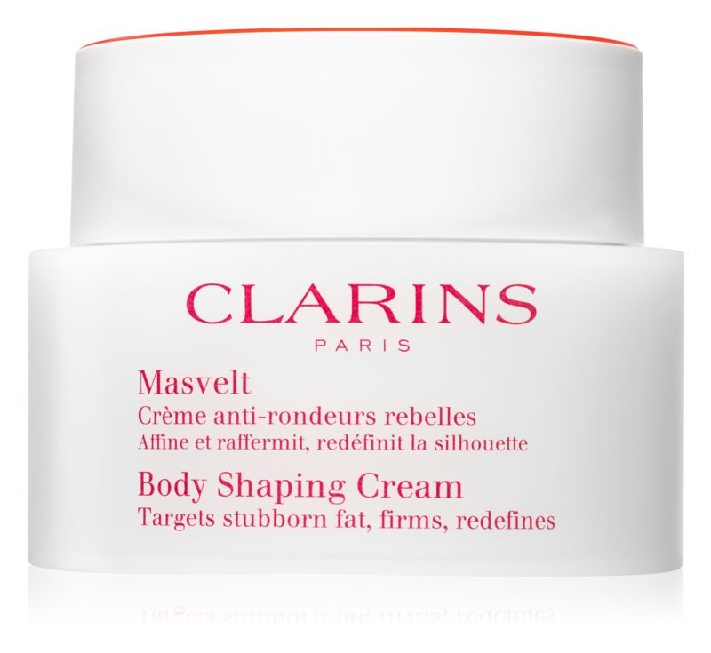 Clarins Body Expert Contouring Care Shaping Cream Targets Stubborn Fat, Firms, Redefines