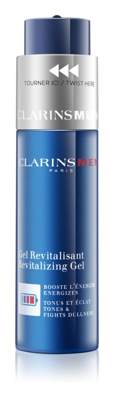 Clarins Men Age Control gel energizante  contra os primeiros sinais de envelhecimento