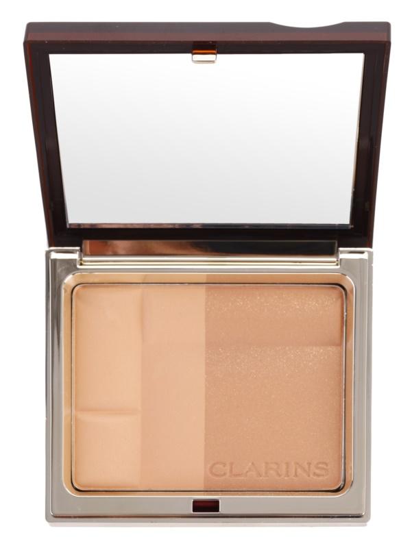Clarins Face Make-Up Bronzing Duo minerálny bronzujúci púder