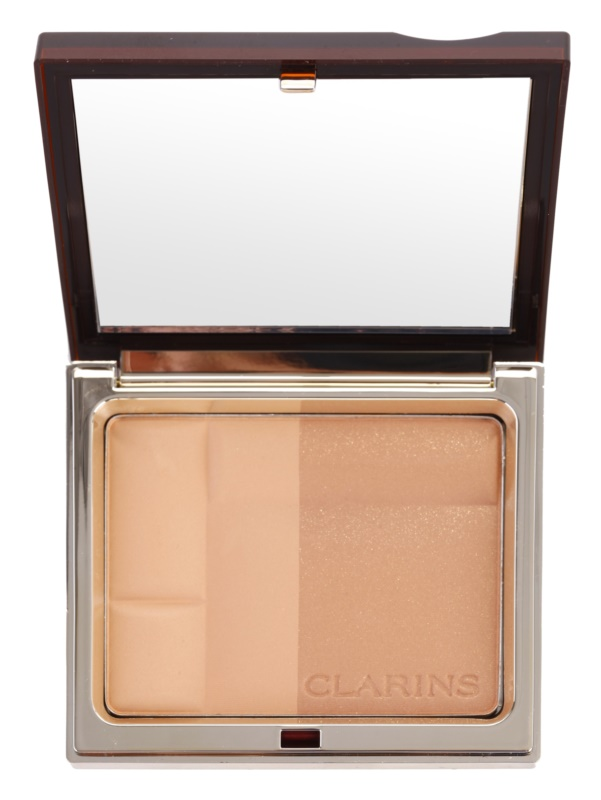 clarins face make up bronzing duo mineralny puder. Black Bedroom Furniture Sets. Home Design Ideas