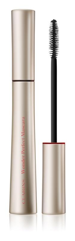 Clarins Eye Make-Up Wonder Perfect Mascara für mehr Volumen und für lange  Wimpern