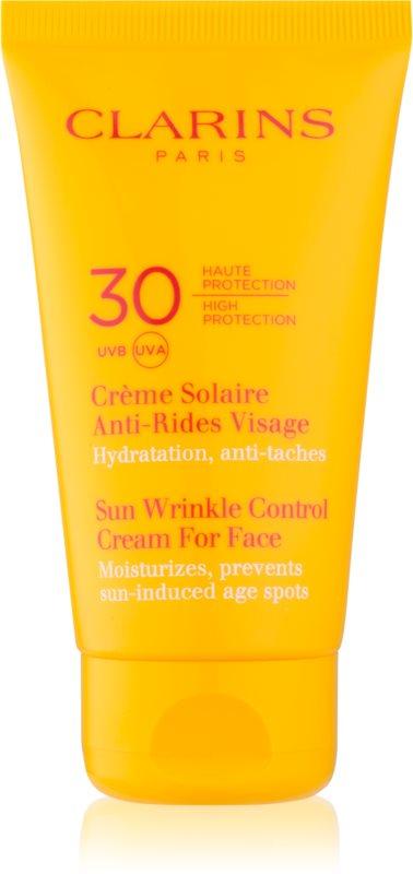 Clarins Sun Protection opaľovací krém proti starnutiu pleti SPF 30