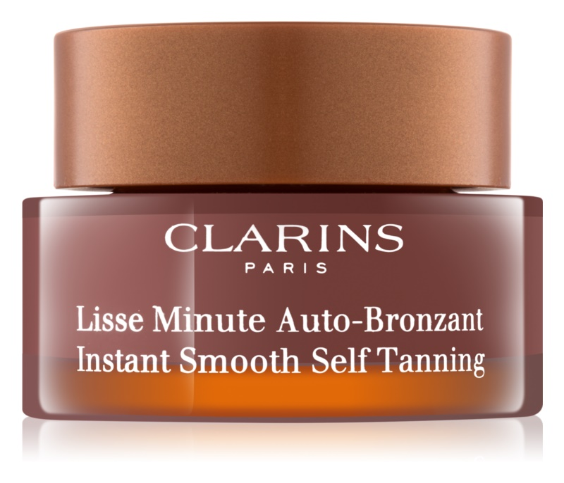 Clarins Sun Self-Tanners αφρός αυτομαυρίσματος Για πρόσωπο, λαιμό και ντεκολτέ
