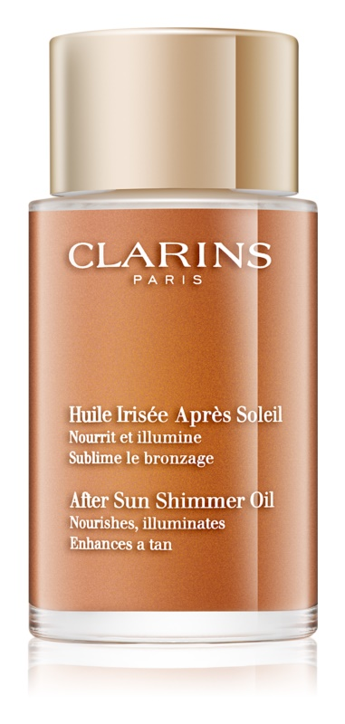 Clarins Sun Soothers After Sun Shimmer Oil