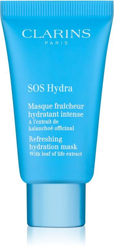 Clarins SOS Hydra Verfrissende hydraterende masker