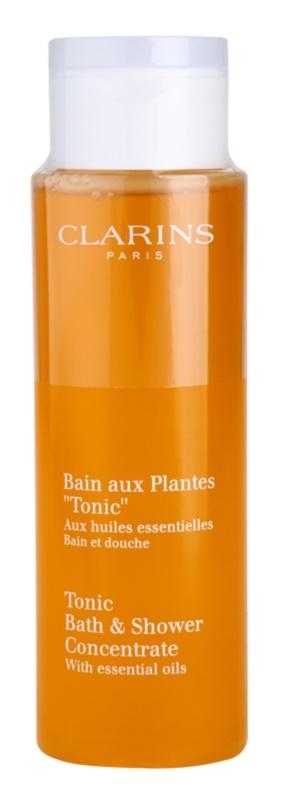 Clarins Body Age Control & Firming Care гель для душа та ванни з есенціальними маслами
